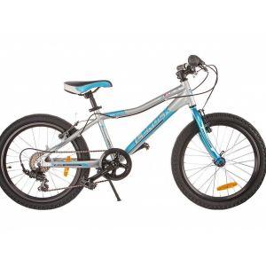 Велосипед детский Lerock RX20S (серебристый)