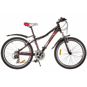 Велосипед подростковый Lerock RX24 (черный)
