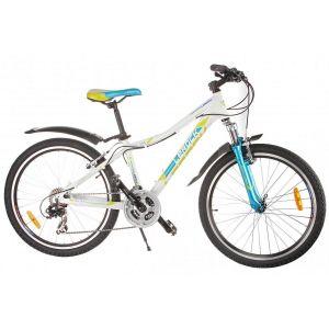 Велосипед подростковый Lerock RX24 (белый)