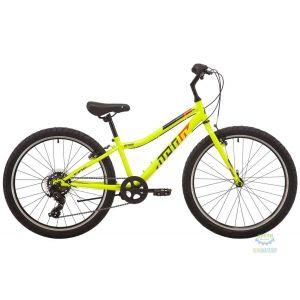 "Велосипед 24"" Pride Brave 4.1 лайм 2019"