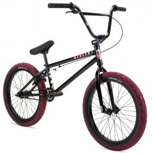 "Велосипед Stolen Casino 20"" 2021 BMX Freestyle Bike XL рама 21.0"" (black - blood red)"