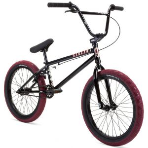 "Велосипед Stolen Casino 20"" 2021 BMX Freestyle Bike L рама 20.25"" (black - blood red)"