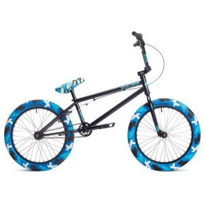 "Велосипед Stolen X Fiction 20"" 2019 BMX Freestyle Bike (blue/camo)"