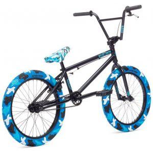 """Велосипед Stolen X Fiction 20"""" 2019 BMX Freestyle Bike (blue/camo)"""