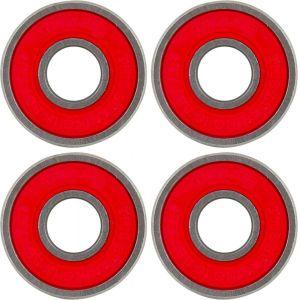 Набор подшипников для трюкового самоката Tilt Better Bearings 4-pack (Red)