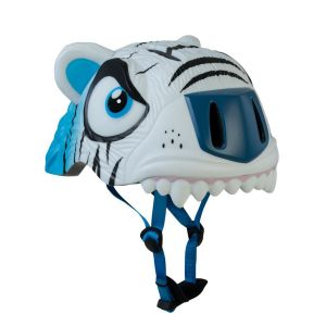 Защитный шлем CrazySafety White Tiger new