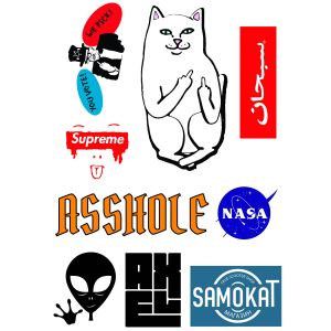 Стикеры Pank Brands sticker pack