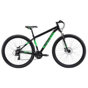 """Велосипед 29"""" Apollo XPERT 10 2018 Matte black/green/grey (матовый черный)"""