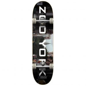 "Скейтборд Zoo York OG 95 Logo Block Complete Skateboard 31.8"" (Chrysler)"