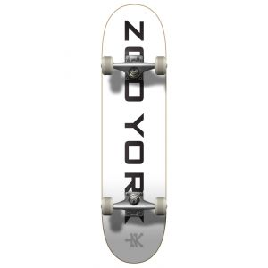 "Скейтборд Zoo York OG 95 Logo Block Complete Skateboard 31.5"" (White)"