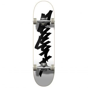 "Скейтборд Zoo York OG 95 Logo Tag Complete Skateboard 31.8"" (White-Black)"