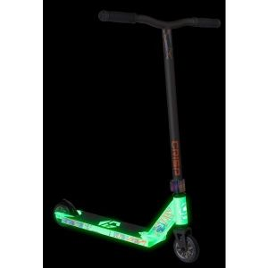 Трюковой самокат Crisp Scooters Blaster Glow In The Dark White-Satin Grey